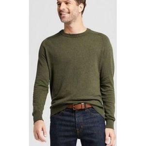 Goodfellow & Co Men's Olive Crewneck Sweater SZ M